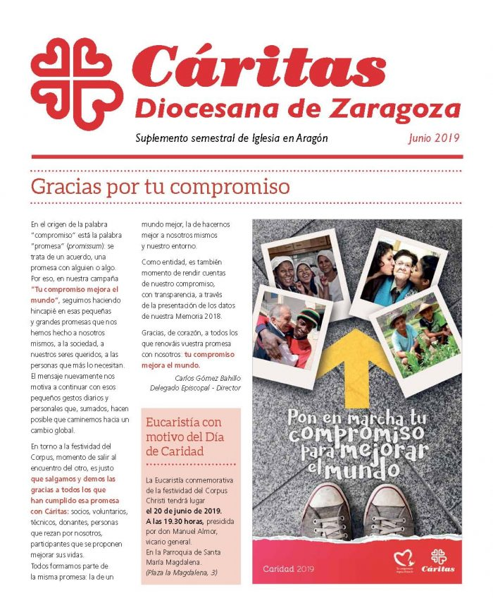 Separata de Iglesia en Aragón. Junio 2019