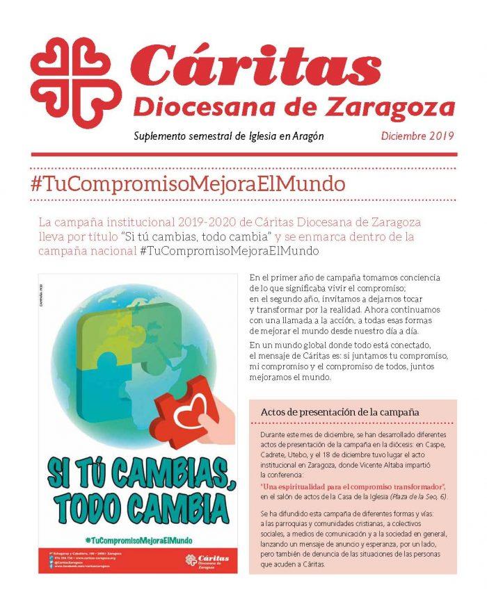 Separata de Iglesia en Aragón. Diciembre 2019