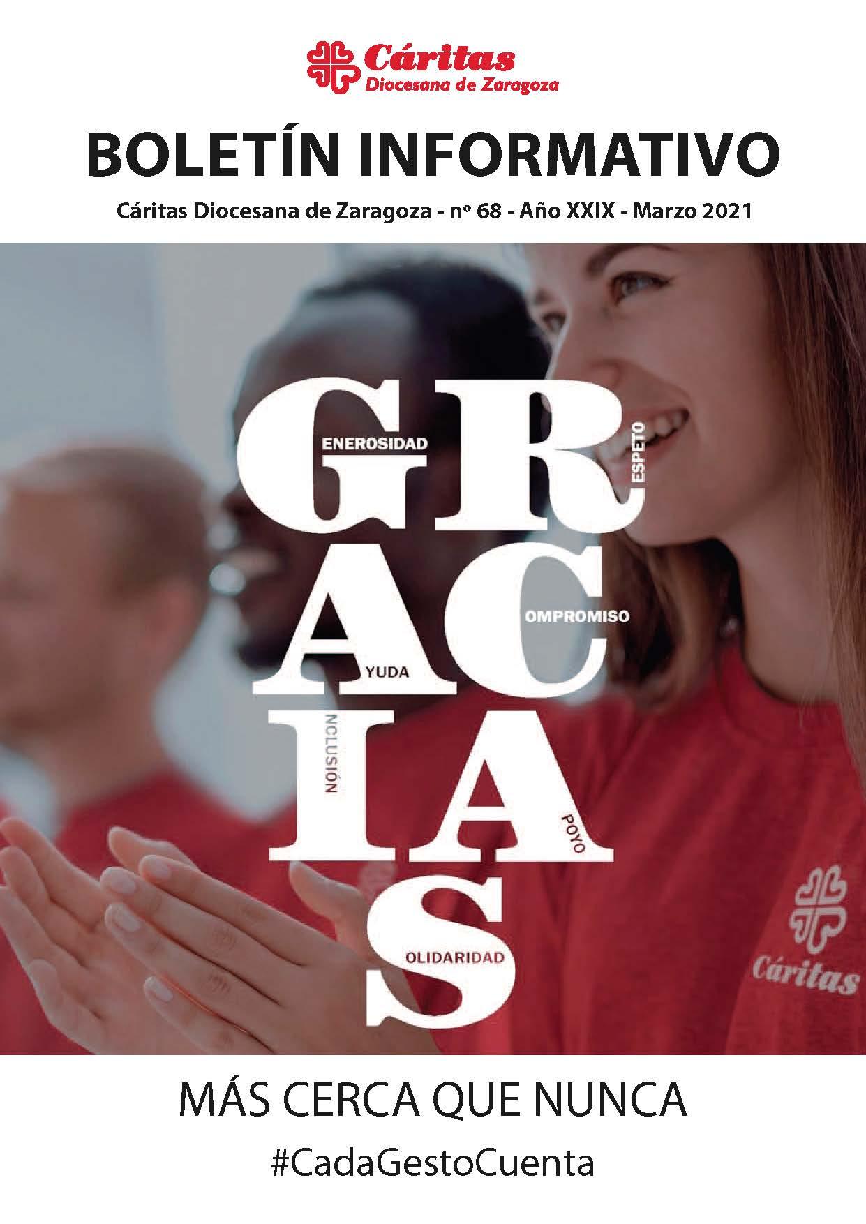 Boletín Cáritas. Nº 68